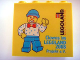 Part No: 30144pb040  Name: Brick 2 x 4 x 3 with Legoland Deutschland Clowns im Legoland 2008 Pattern
