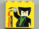 Part No: 30144pb053  Name: Brick 2 x 4 x 3 with Halloween 2008 and Dracula Minifigure Pattern