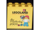 Part No: 30144pb056  Name: Brick 2 x 4 x 3 with Legoland Deutschland Muttertag 2009 Pattern