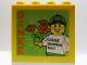 Part No: 30144pb190  Name: Brick 2 x 4 x 3 with Danke Legoland Deutschland Resort Pattern