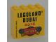 Part No: 30144pb262  Name: Brick 2 x 4 x 3 with LEGOLAND DUBAI 2016  FACTORY Pattern