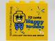 Part No: 30144pb272  Name: Brick 2 x 4 x 3 with 17 JAHRE Happy Birthday LEGOLAND DEUTSCHLAND RESORT Pattern