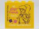 Part No: 30144pb273  Name: Brick 2 x 4 x 3 with LEGO friends 2019 LEGOLAND Deutschland Resort Pattern