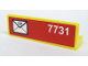 Part No: 30413pb007R  Name: Panel 1 x 4 x 1 with Mail Envelope and '7731' on Right Side Pattern (Sticker) - Set 7731