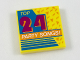 Part No: 3068bpb1137  Name: Tile 2 x 2 with 'Top 24 Party Songs!' Album Cover Pattern