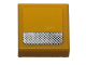 Part No: 3070bpb087  Name: Tile 1 x 1 with Groove with Silver Stripe with Black Dots Pattern (Sticker) - Set 40193