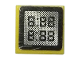 Part No: 3070bpb122  Name: Tile 1 x 1 with Groove with '8:88' Display Pattern (Sticker) - Set 8144