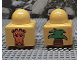 Part No: 31000pb07  Name: Primo Brick 1 x 1 with Giraffe Head and Top of Palm Tree Pattern on Opposite Sides
