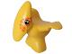 Part No: 31056px2  Name: Duplo Dinosaur Pteranodon Baby with Orange Spots around Eyes Pattern