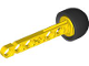 Part No: 32133ac01  Name: Technic Competition Arrow, Liftarm Shaft with Solid Black Rubber End
