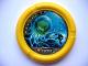 Part No: 32171pb029  Name: Throwbot Disk, Scuba / Sub, 6 pips, fighting giant jellyfish Pattern