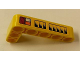 Part No: 32526pb006L  Name: Technic, Liftarm 3 x 5 L-Shape Thick with Taillights and Air Vents Pattern Model Left Side (Sticker) - Set 42006