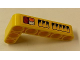 Part No: 32526pb006R  Name: Technic, Liftarm 3 x 5 L-Shape Thick with Taillights and Air Vents Pattern Model Right Side (Sticker) - Set 42006