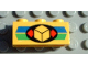 Part No: 3622pb008  Name: Brick 1 x 3 with Cargo Pattern