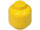 Part No: 3626a  Name: Minifig, Head (Plain) - Solid Stud