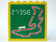 Part No: 3754pb06  Name: Brick 1 x 6 x 5 with Racetrack and Time Pattern (Sticker) - Set 6337