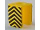 Part No: 3840pb01  Name: Minifigure, Vest with Black Chevron Pattern (Sticker)