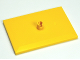 Part No: 4025  Name: Train Bogie Plate (Tile, Modified 6 x 4 with 5mm Pin)