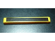 Part No: 40490pb001  Name: Technic, Liftarm 1 x 9 Thick with Chrome Silver Stripe Pattern (Sticker) - Set 8146
