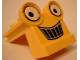 Part No: 40668pb01  Name: Duplo Backhoe Grille (Scoop's Face)