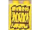 Part No: 4066pb077  Name: Duplo, Brick 1 x 2 x 2 with Bundle of Straw Pattern