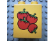 Part No: 4066pb104  Name: Duplo, Brick 1 x 2 x 2 with Four Tomatoes Pattern