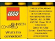 Part No: 4066pb310  Name: Duplo, Brick 1 x 2 x 2 with Johnson Controls Pattern