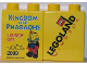 Part No: 4066pb331  Name: Duplo, Brick 1 x 2 x 2 with Kingdom of the Pharaohs Launch Day 2009 Legoland Windsor Pattern