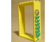 Part No: 4071pb02  Name: Door Frame 2 x 6 x 7 with Sunflower Pattern (Sticker) - Set 3674