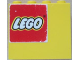 Part No: 4215apb11L  Name: Panel 1 x 4 x 3 - Solid Studs with Lego Logo Pattern Upper Left (Sticker) - Set 6692