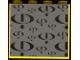 Part No: 4215pb059  Name: Panel 1 x 4 x 3 with Gravity Games Logo Repeating Black on Dark Gray Pattern (Sticker) - Set 3585