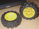 Part No: 4266c01  Name: Wheel 20 x 30 Technic with Black Tire 20 x 30 Solid Balloon (4266 / 2857)