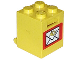 Part No: 4345apx1  Name: Container, Box 2 x 2 x 2 - Solid Studs with Mail Pattern
