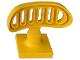 Part No: 4376c01  Name: Duplo Radar Array on 2 x 2 Yellow Base