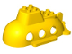 Part No: 43848  Name: Duplo Submarine Hull 10 x 6 x 3 1/2 Top Section