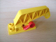 Part No: 4659c01  Name: Duplo Crane Base 2 x 4 with Movable Arm and Red Lever