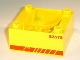 Part No: 51547pb13  Name: Duplo, Train Cab / Tender Base with Bottom Tube and 83578 Locomotive Pattern