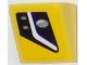 Part No: 54200pb076R  Name: Slope 30 1 x 1 x 2/3 with Chevrolet Corvette Lower Headlight Pattern Model Right Side (Sticker) - Set 75870