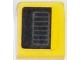 Part No: 54200pb077R  Name: Slope 30 1 x 1 x 2/3 with Chevrolet Corvette Bumper Air Vent Pattern Model Right Side (Sticker) - Set 75870
