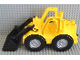 Part No: 5523c01  Name: Duplo Bulldozer with Black Scoop Complete Assembly