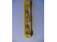 Part No: 58827pb01L  Name: Support 2 x 2 x 10 Girder Triangular Vertical - Type 3 - 3 Posts, 2 Sections with Electricity Danger Sign Pattern Left (Sticker) - Set 7633