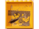 Part No: 59349pb088  Name: Panel 1 x 6 x 5 with Black Grafitti Tag and Black Damage Pattern (Sticker) - Set 5972