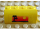 Part No: 6081pb002  Name: Brick, Modified 2 x 4 x 1 1/3 with Curved Top with Palm Trees and Sun Pattern (Sticker) - Set 6561