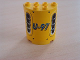 Part No: 6259pb003  Name: Cylinder Half 2 x 4 x 4 with 'U-97' & Vent Holes Pattern (Sticker) - Set 8250