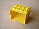 Part No: 6395  Name: Duplo, Train Freight Container 2 x 4 Studs on Top, Open Sides