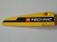 Part No: 64393pb005  Name: Technic, Panel Fairing # 6 Long Smooth, Side B with Black Line and LEGO TECHNIC Logo Pattern (Sticker) - Set 8043