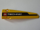Part No: 64681pb005  Name: Technic, Panel Fairing # 5 Long Smooth, Side A with Black Lineand LEGO TECHNIC Logo Pattern (Sticker) - Set 8043