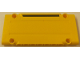 Part No: 64782pb024R  Name: Technic, Panel Plate 5 x 11 x 1 with Black Horizontal Stripe on Yellow Background Pattern Model Right Side (Sticker) - Set 8264