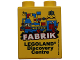 Part No: 76371pb073  Name: Duplo, Brick 1 x 2 x 2 with Bottom Tube with Legoland Discovery Centre FABRIK 2017 Pattern