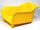 Part No: 87705  Name: Duplo Dump Truck Large Container (Tipper Bed)